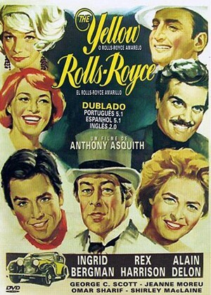 "Cartaz do filme ""O Rolls Royce Amarelo"