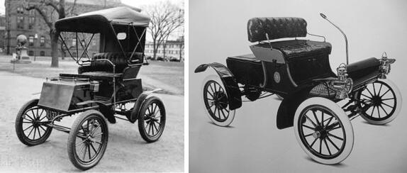 Electric Columbia e Curved Dash Oldsmobile