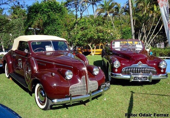 Dois Buicks Conversíveis: 1939 e 1947
