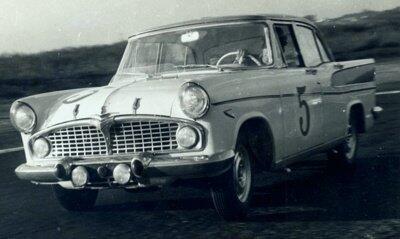 24 Horas de Interlagos, 1961. Simca Nº 5, pilotada por Wlademir Costa e Zoroastro Avon